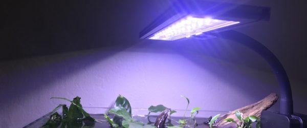 Nano aquarium light for planted tank